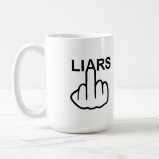 Mug Bird Flipping Liars Flip