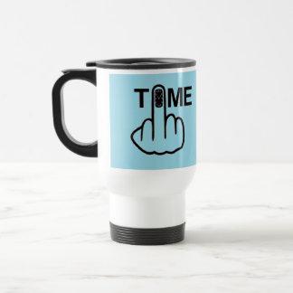 Mug Bird Flipping Time Flip