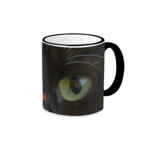 Mug: Black Cat Eyes