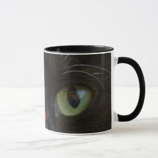 Mug: Black Cat Eyes Mug