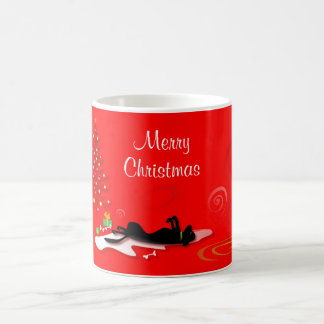 Mug - Black Lab Merry Christmas