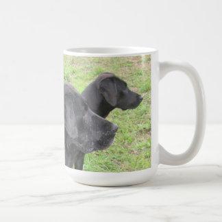 Mug: Black Labs Coffee Mug