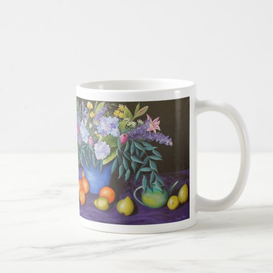 MUG - Blooming Beautiful Acrylic Still Life