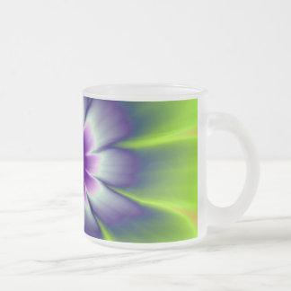 Mug   Blue Green and Violet Daisy Flower