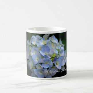 Mug-Blue hydrangea flowers Coffee Mug