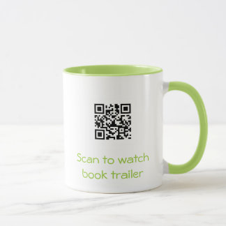 MUG- Book Trailer QR Code Mug