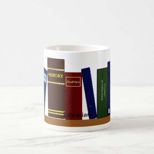 Mug - Books on Shelf