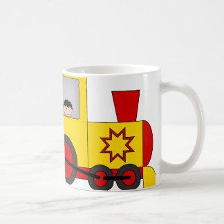 Mug Boy in Train