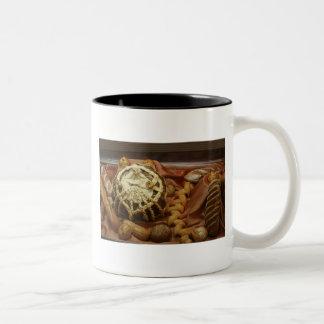 Mug, bread # 1 Two-Tone coffee mug