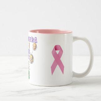 Mug - Breast Cancer Family Battle