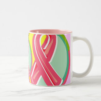 Mug - Breast Cancer Ribbon