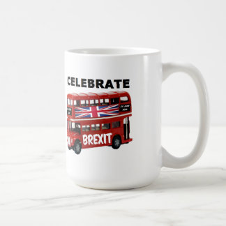 Mug Britain Celebrate Brexit Bus