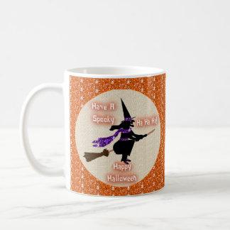 Mug Broom Stick Witch