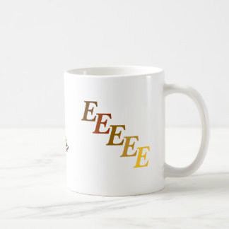 Mug - Brown Name with Initials