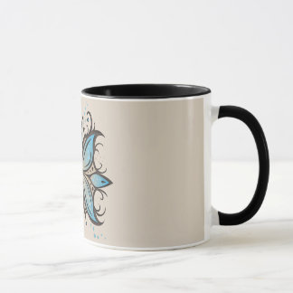 Mug Butterfly Abstract