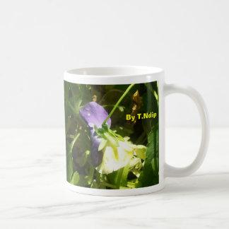 Mug: By T.Ndip Purple/Yellow