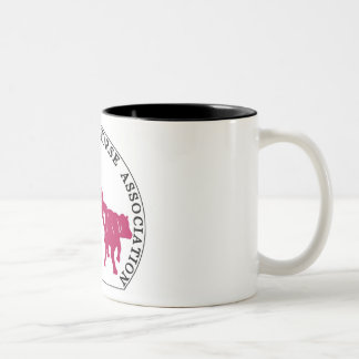 Mug Cabernet CHA Blanc Logo Rose