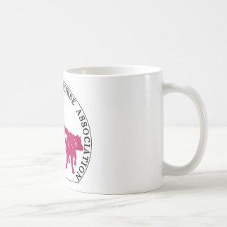 Mug Cabernet CHA Interieur Blanc  Logo Rose