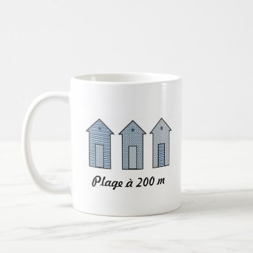 Mug cabins of beach