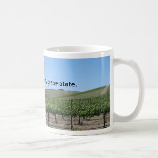 Mug: California is a Great Grape State Coffee Mug