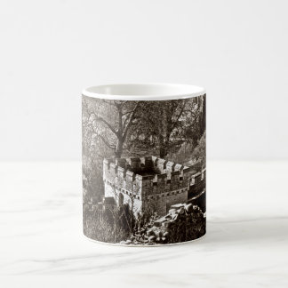 MUG; Castle. Black & White Magic Mug