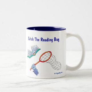 Mug_Catch The Reading Bug Two-Tone Coffee Mug