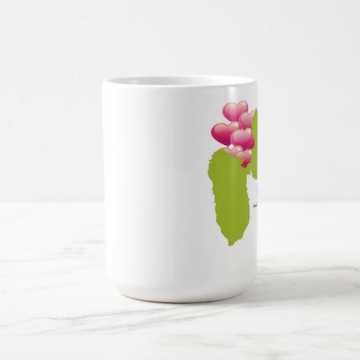 mug cé ou mwen enmé taza básica blanca