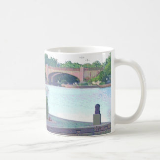 "MUG: Centennial Lakes Park ""Benches & Bridge"" Coffee Mug"
