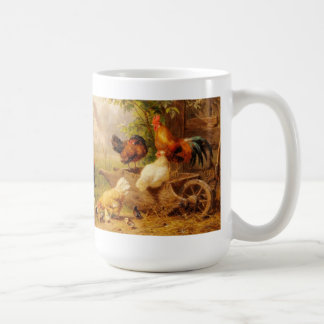 Mug-Chickens, Roosters, Chicks Coffee Mug