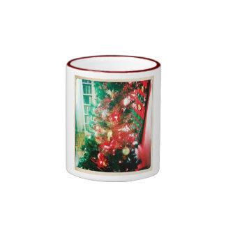 Mug Christmas Home Taza De Dos Colores
