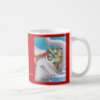 Mug / Circus Elephant and Bear / Sally Coupe Jacob