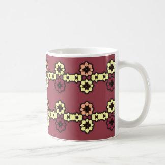 "Mug clásico amaranto motivo ""Coronas de flores "" Taza Clásica"