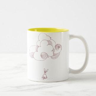 mug cloudy bunny