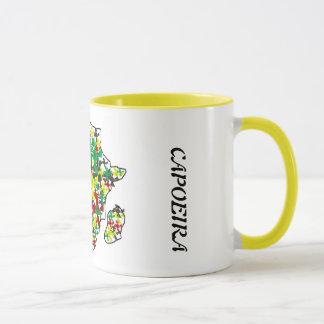 mug coffee africa angola travel map