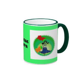 mug coffee belly dancer tribal bollywood fan