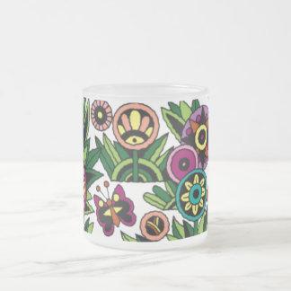Mug Coffee Cup, Flowers, Butterflies, Customizable