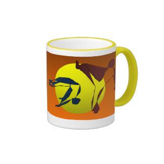 mug coffee cup martial arts love axe karate dance