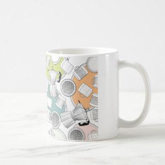 Mug, coffee machines, cups, saucers coffee mug