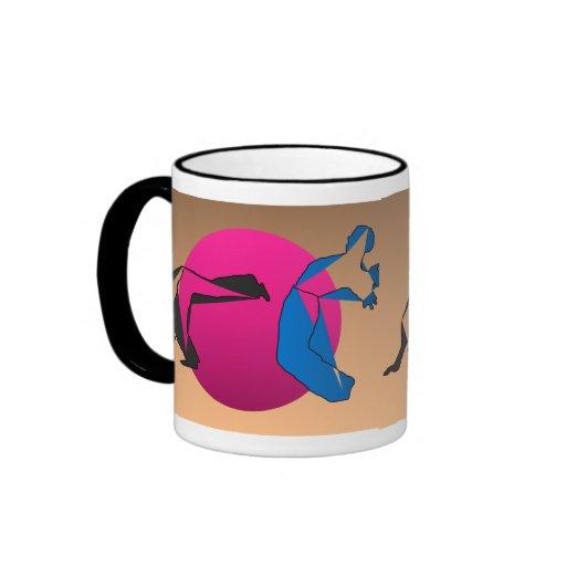 mug coffee tea brasil fighters capoeira