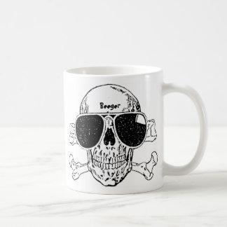 Mug (coffee/tes) - Shady Skull