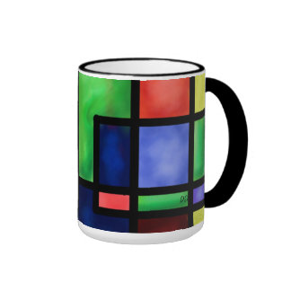 Mug--color-block design