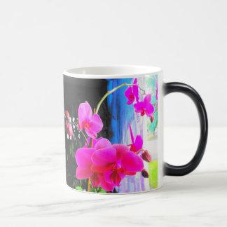 Mug/Color Morph Orchids 11 Oz Magic Heat Color-Changing Coffee Mug