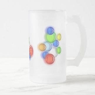 Mug - Colored  bubbles