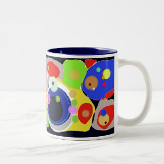 Mug colorful abstract by DSM