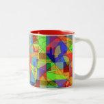 Mug - colorful abstract to wake you up!