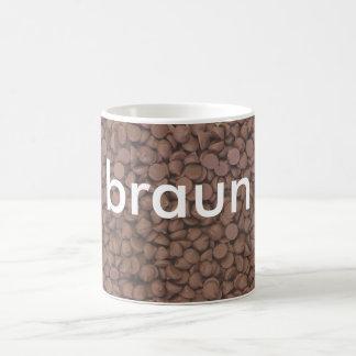 mug: colors german brown (braun)