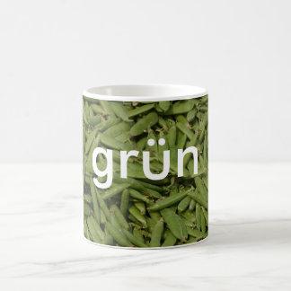 mug: colors german green (grün) coffee mug
