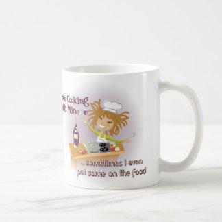 Mug - Cooking with wine