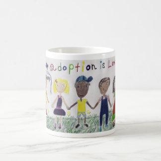 Mug/Cup - Adoption is Love Art