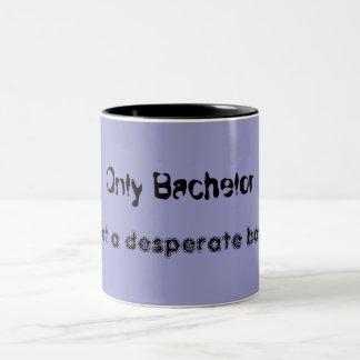 """Mug/Cup """"Bachelor """" Two-Tone Coffee Mug"""